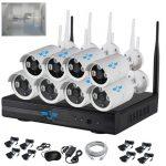 Italian Alarm kit Videosorveglianza 8 telecamere