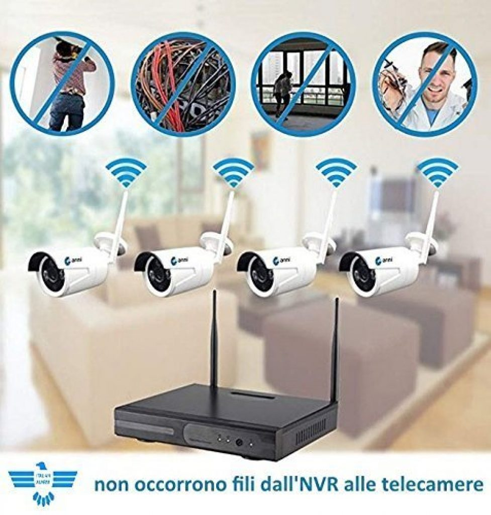 Italian-Alarm-kit-Videosorveglianza-senza-fili-