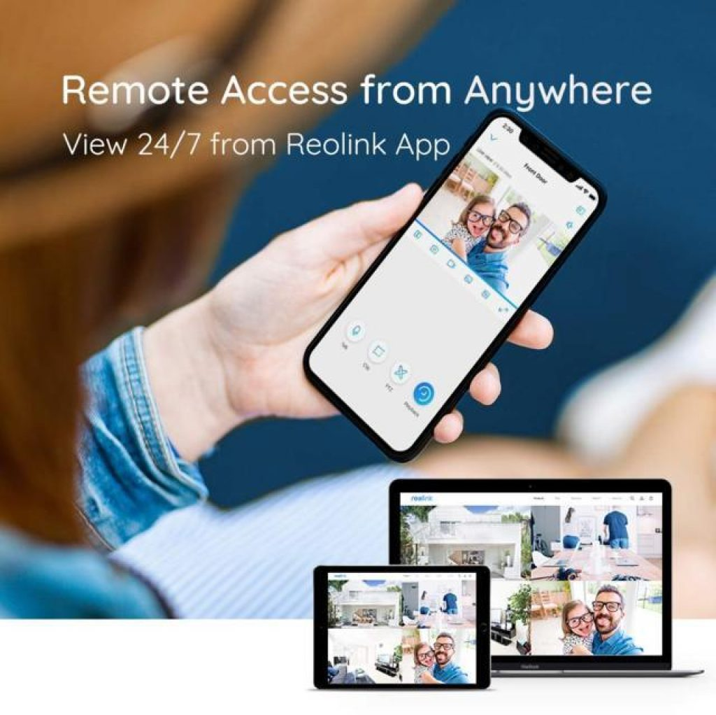 Reolink Kit di videosorveglianza controllo da smartphone